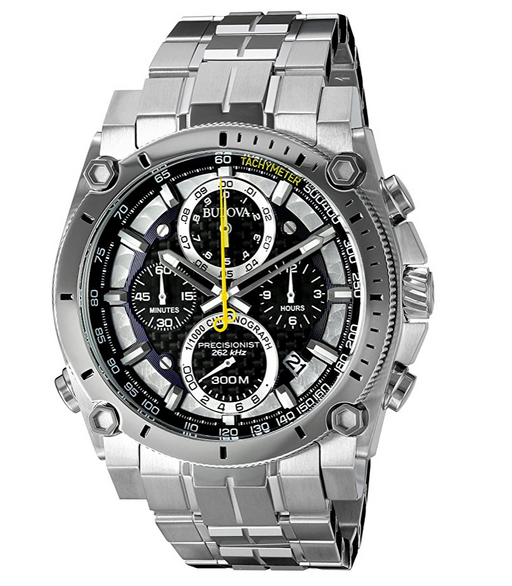 Mens Stainless Steel Precisionist Dive Watch by Bulova