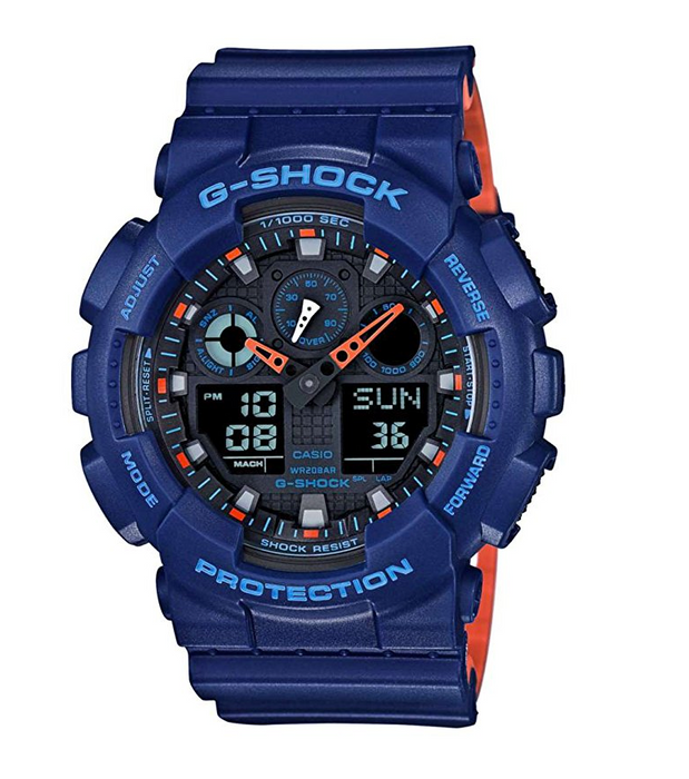Mens Blue G-Shock Watch by Casio