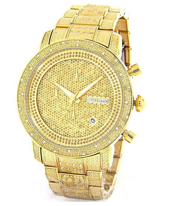 Mens Real Diamond Watch by Jojino - 1.05 Carats - Iced Out