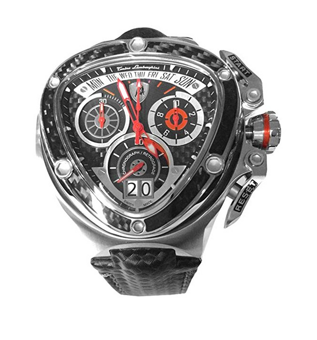 Sleek Black Spyder 3020 Watch by Tonino Lamborghini