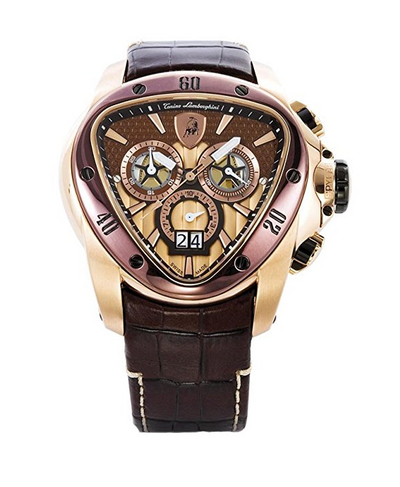 Womens Rose Gold Spyder 1120 Watch by Tonino Lamborghini