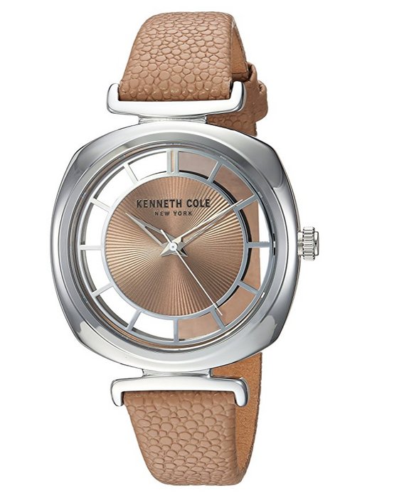 Casual Brass-Plated Dress Watch for Women by Kenneth Cole