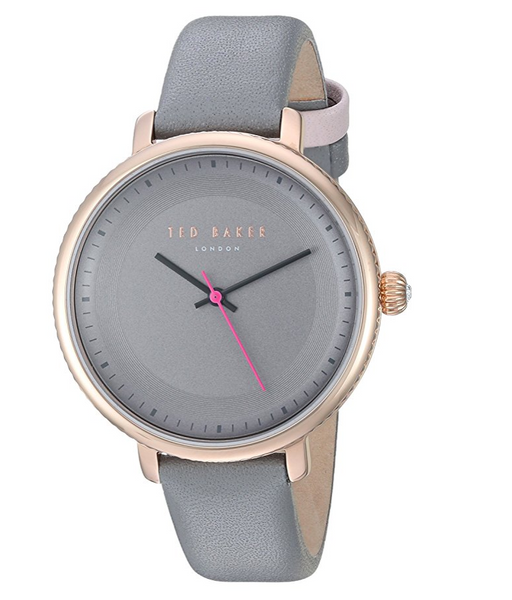 Gray and Rose Gold Womens Watch by Ted Baker - Classic Charm Collection