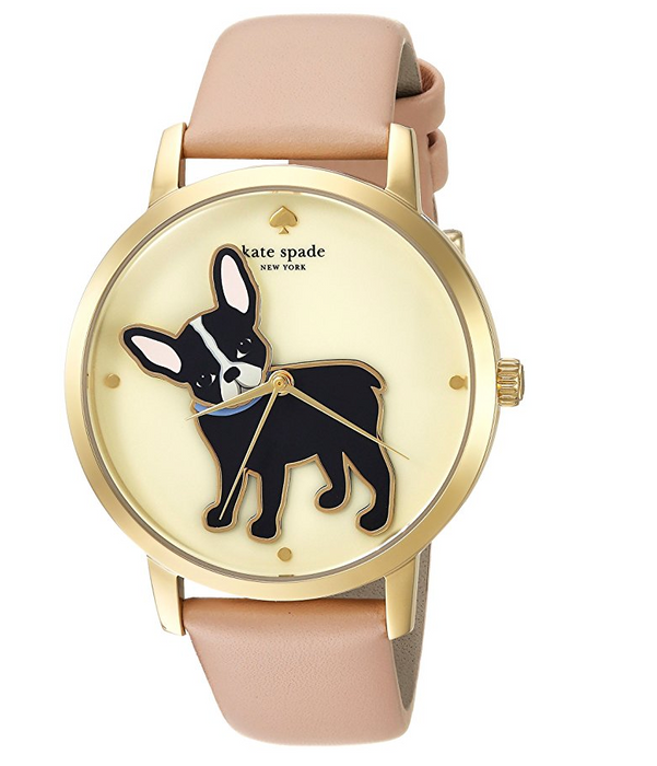 Grand Metro Watch French Bulldog Watch for Women by Kate Spade New York