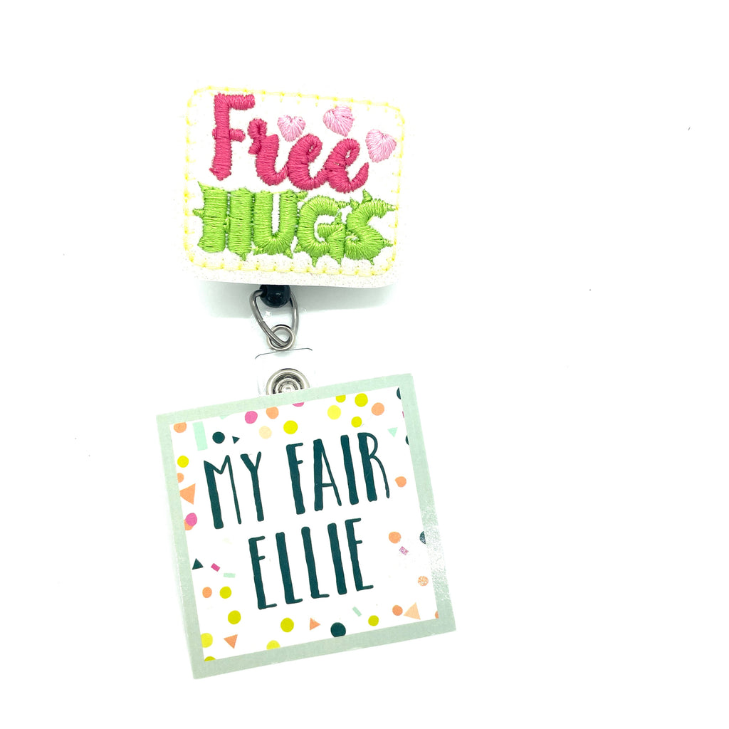 Free Hugs // Badge Buddy - TOPPER ONLY!