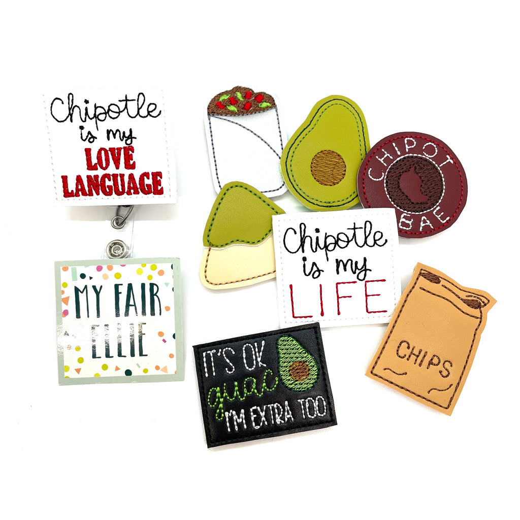 Chipotle // Badge Buddy - TOPPER ONLY!
