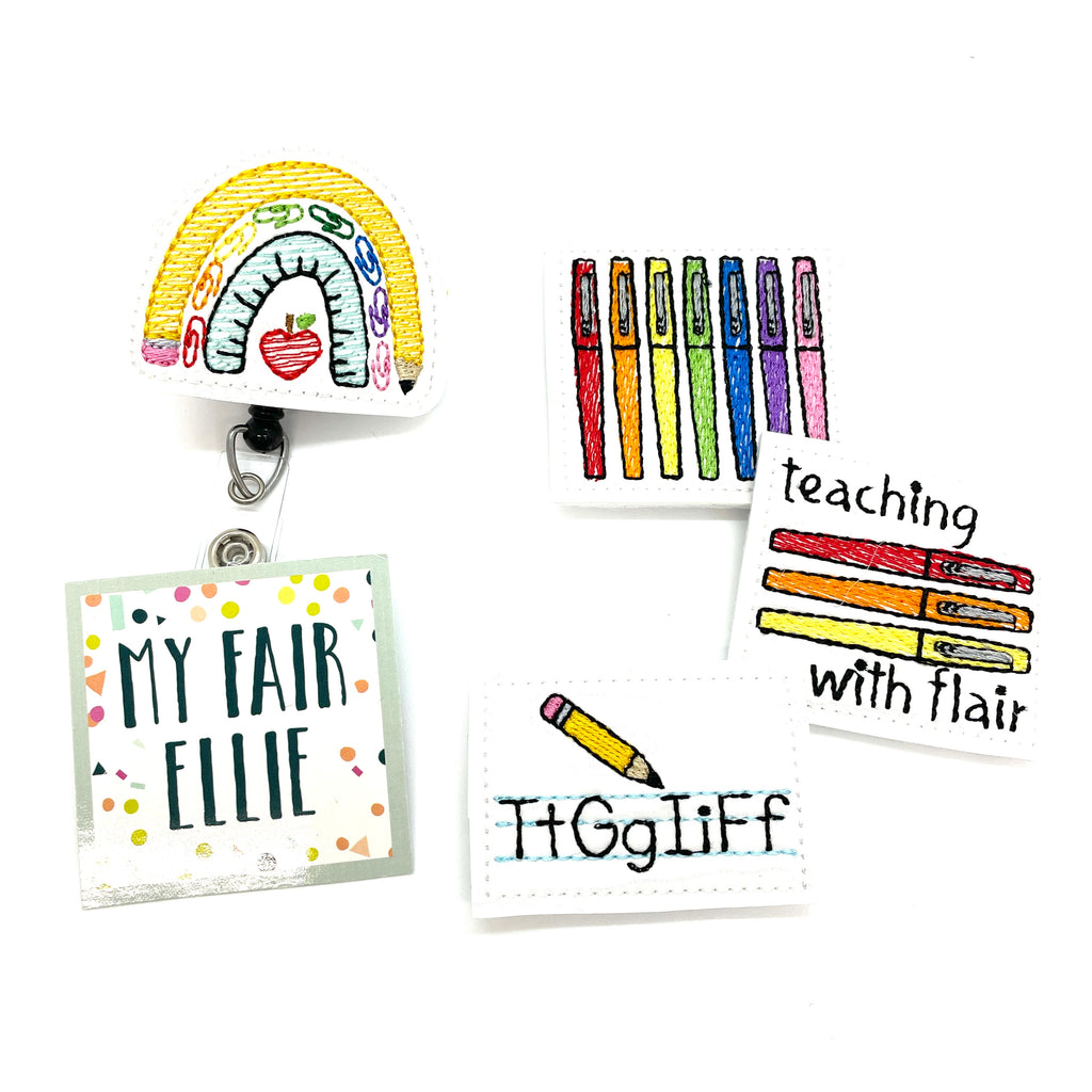 Flair Pens // Teacher // Badge Buddy - TOPPER ONLY!