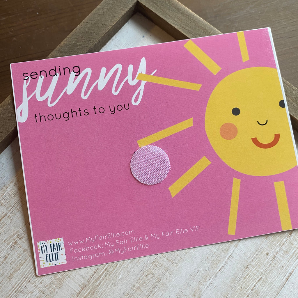 Sending Sunny Thoughts // Badge Buddy Gram