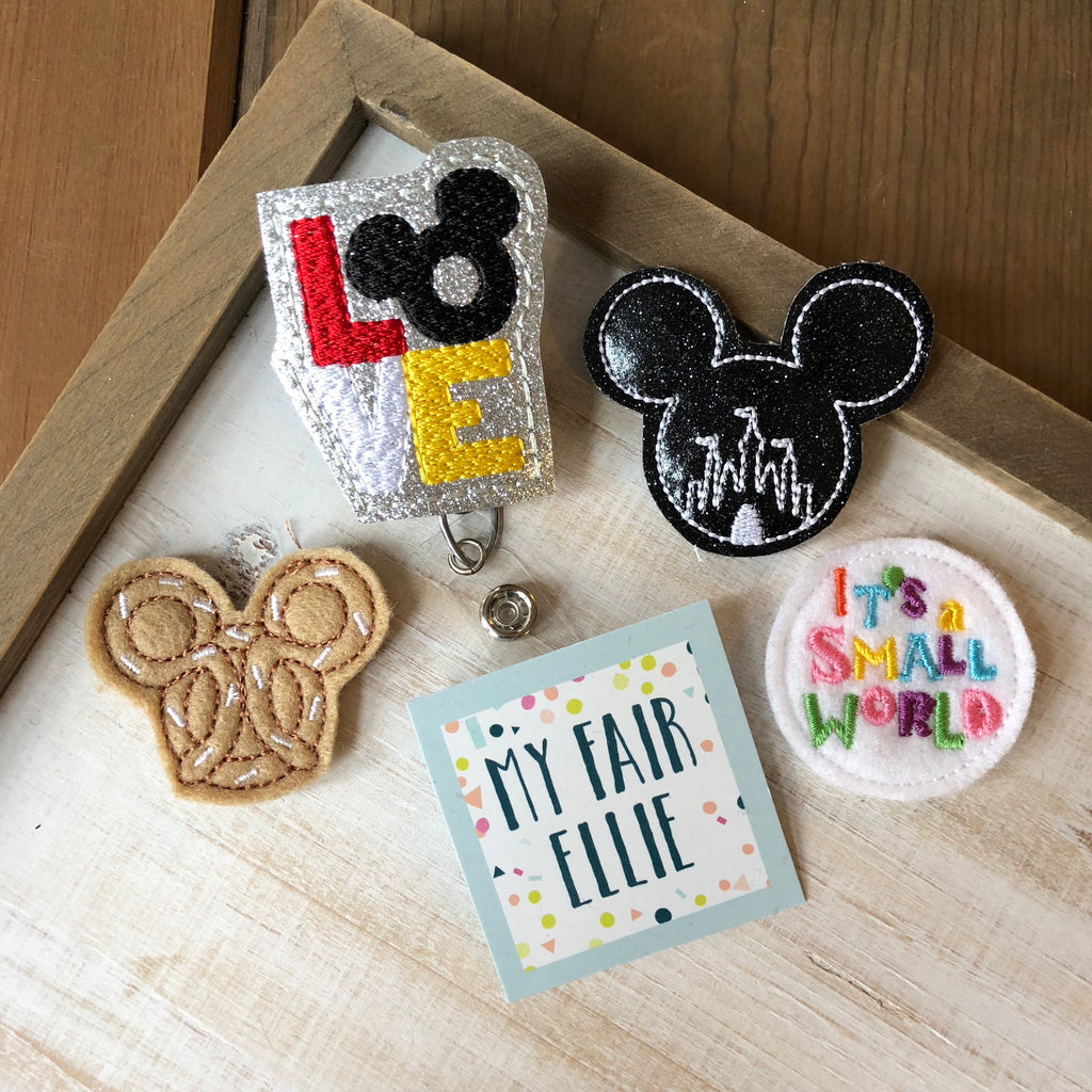 Disney Badge Buddy - TOPPER ONLY!