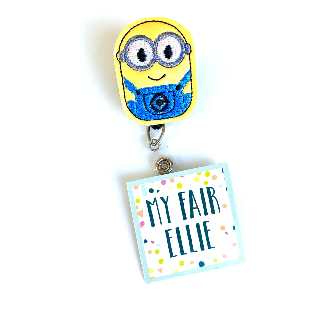 Despicable Me // Minions Badge Buddy - TOPPER ONLY!