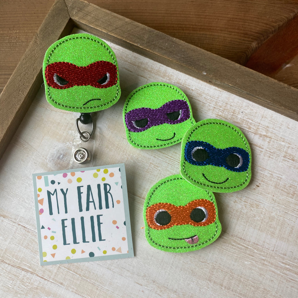 TMNT // Ninja Turtles Badge Buddy // TOPPERS ONLY!