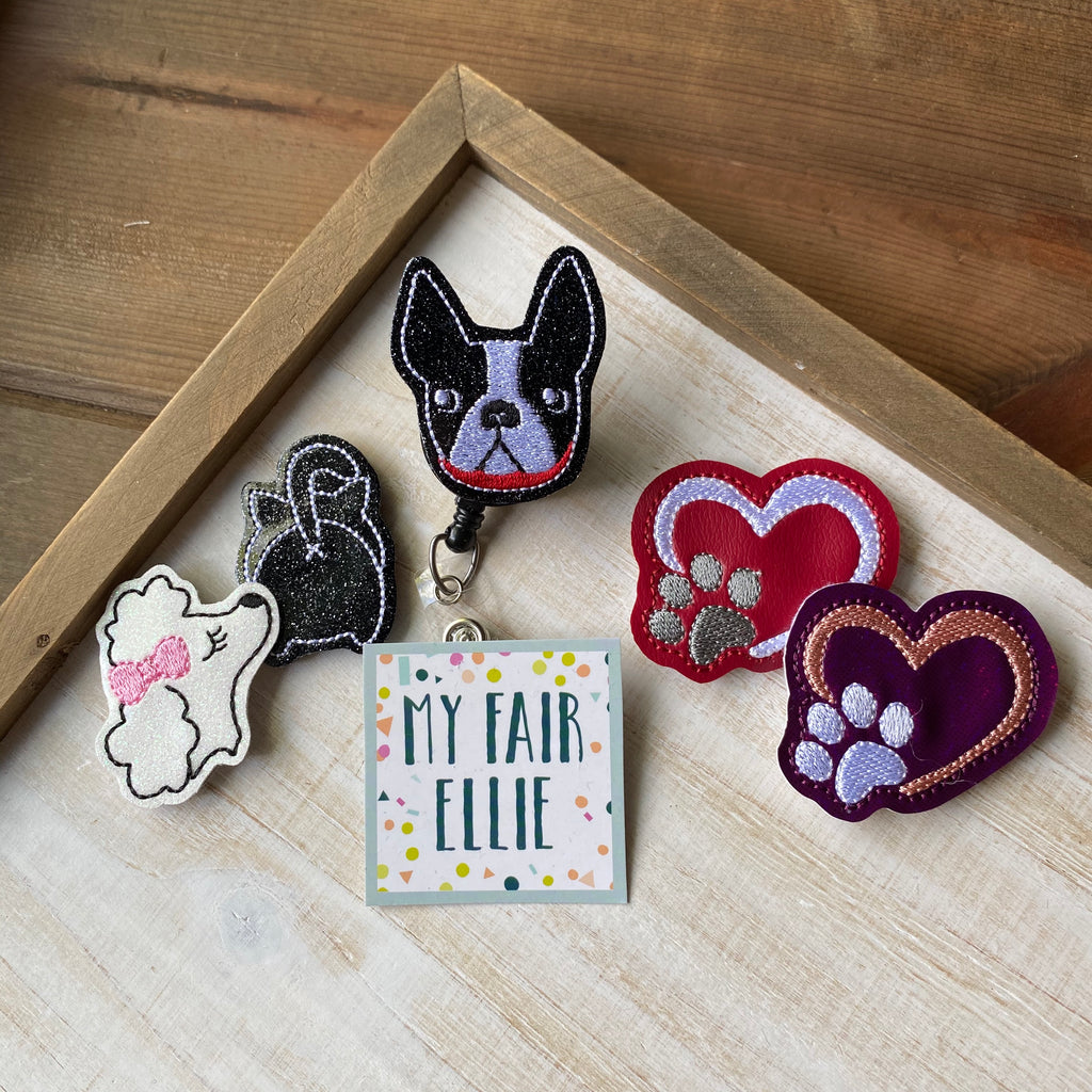 Dog // Cat // Pet Love Badge Buddy // TOPPERS ONLY!