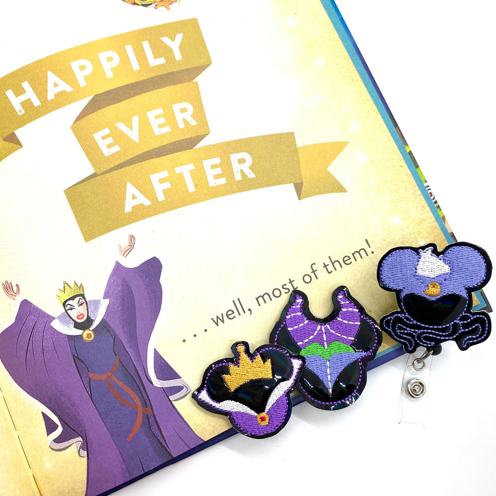Villains // Badge Buddy