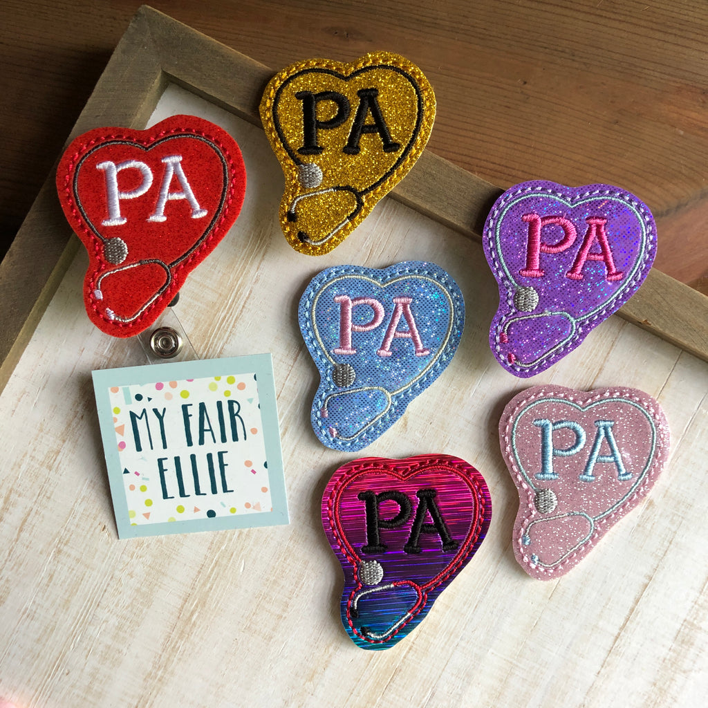 PA // Physician's Assistant Badge Buddy - TOPPER ONLY!