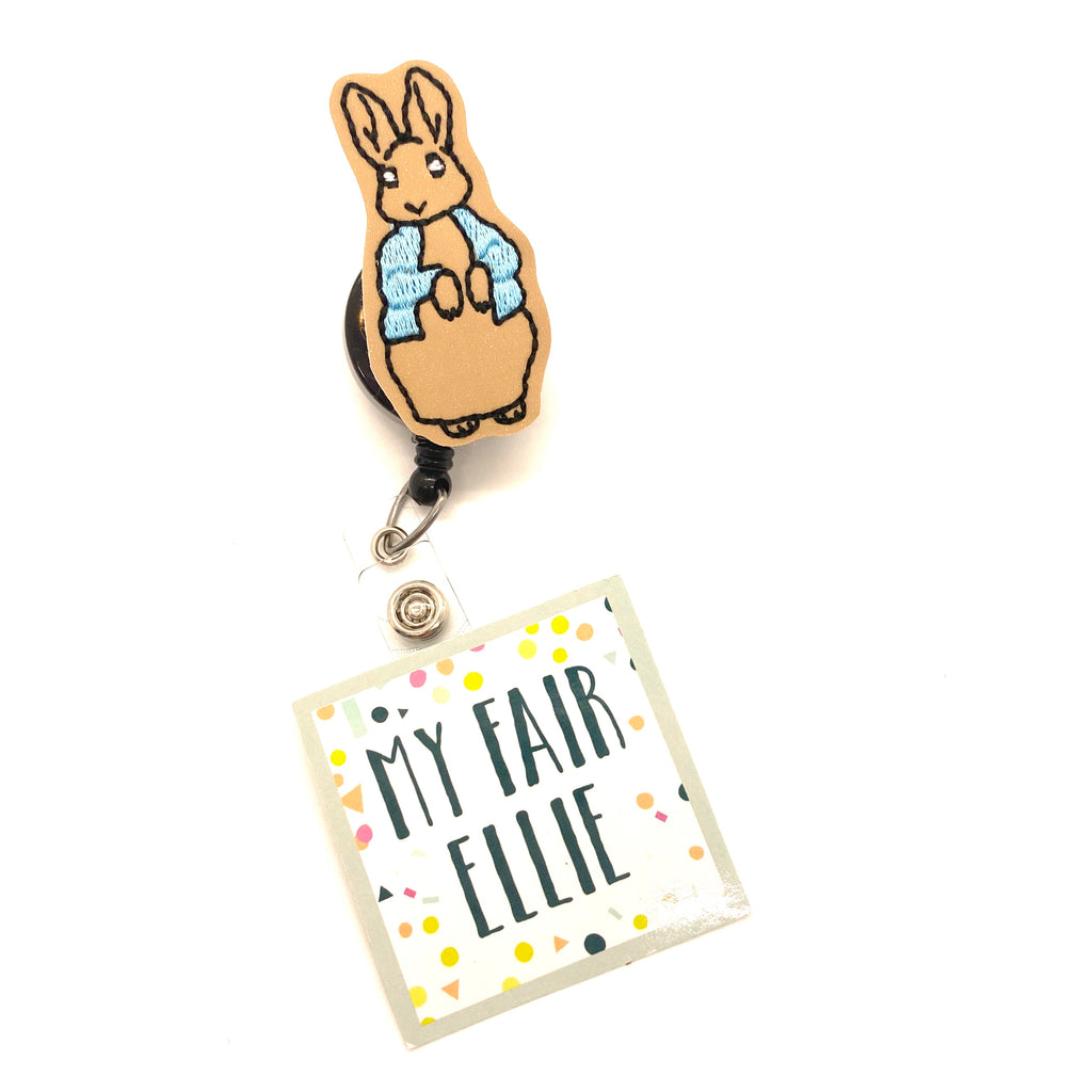 Peter Rabbit Badge Buddy - TOPPER ONLY!