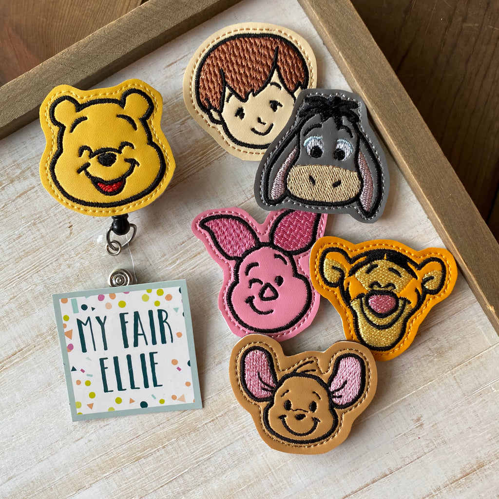 Winnie the Pooh Badge Buddy // TOPPERS ONLY!
