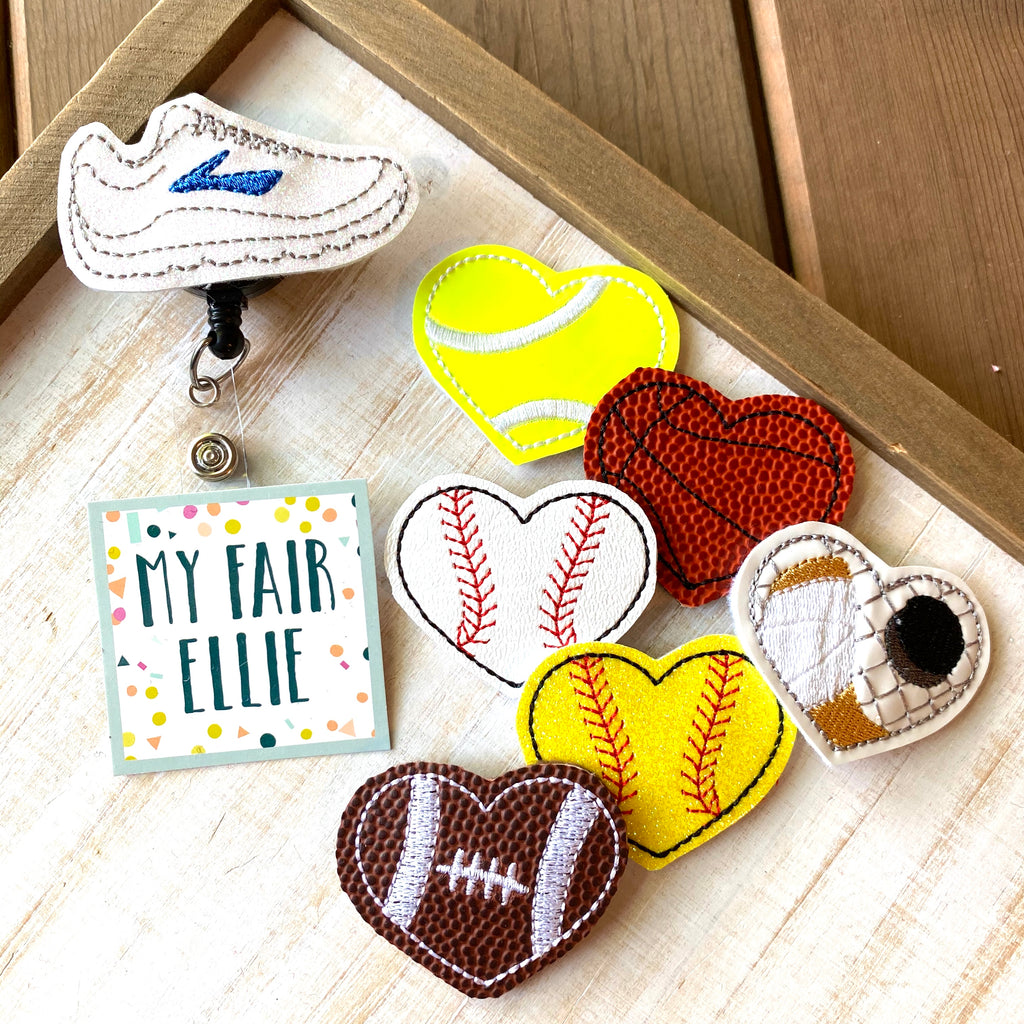 Sports // Baseball // Football // Running // Tennis // Hockey Badge Buddy // TOPPERS ONLY!