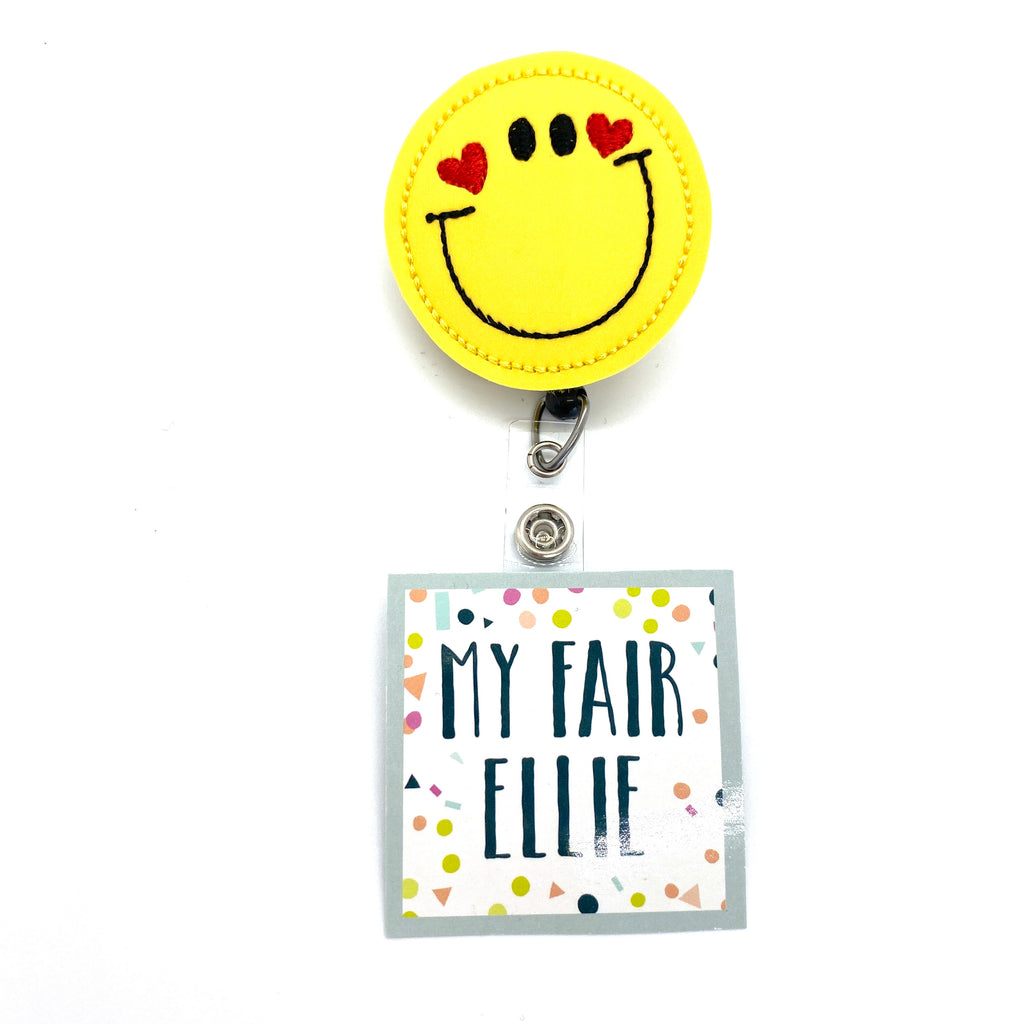 SMILE // Badge Buddy - TOPPER ONLY!