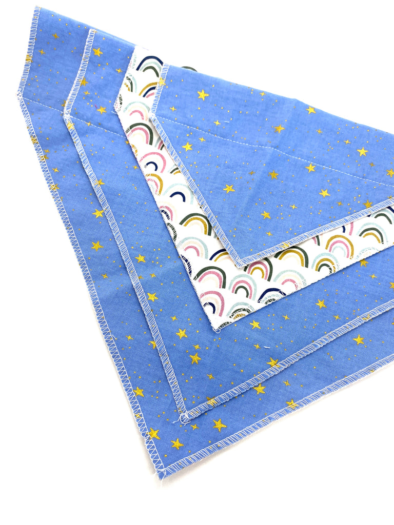 Blue Stars // Dog Bandana