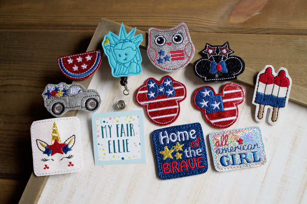 MFE Born in the USA: Patriotic Badge Buddy