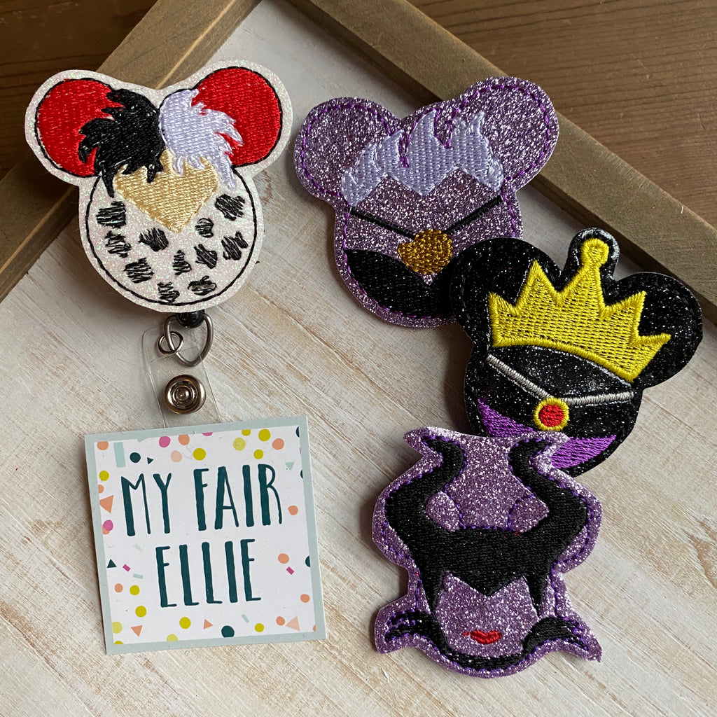 Disney Villain Badge Buddy - TOPPER ONLY!