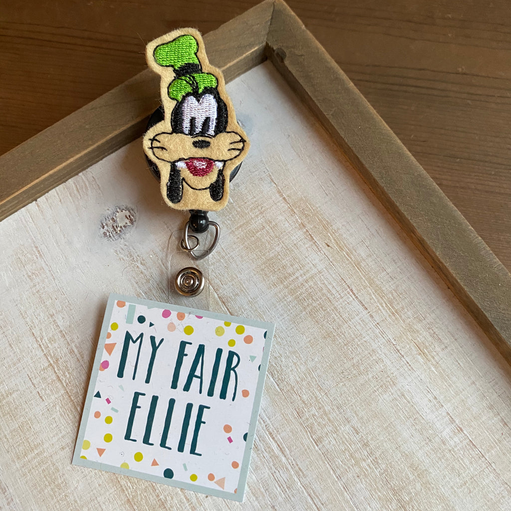 Goofy Badge Buddy - TOPPER ONLY!