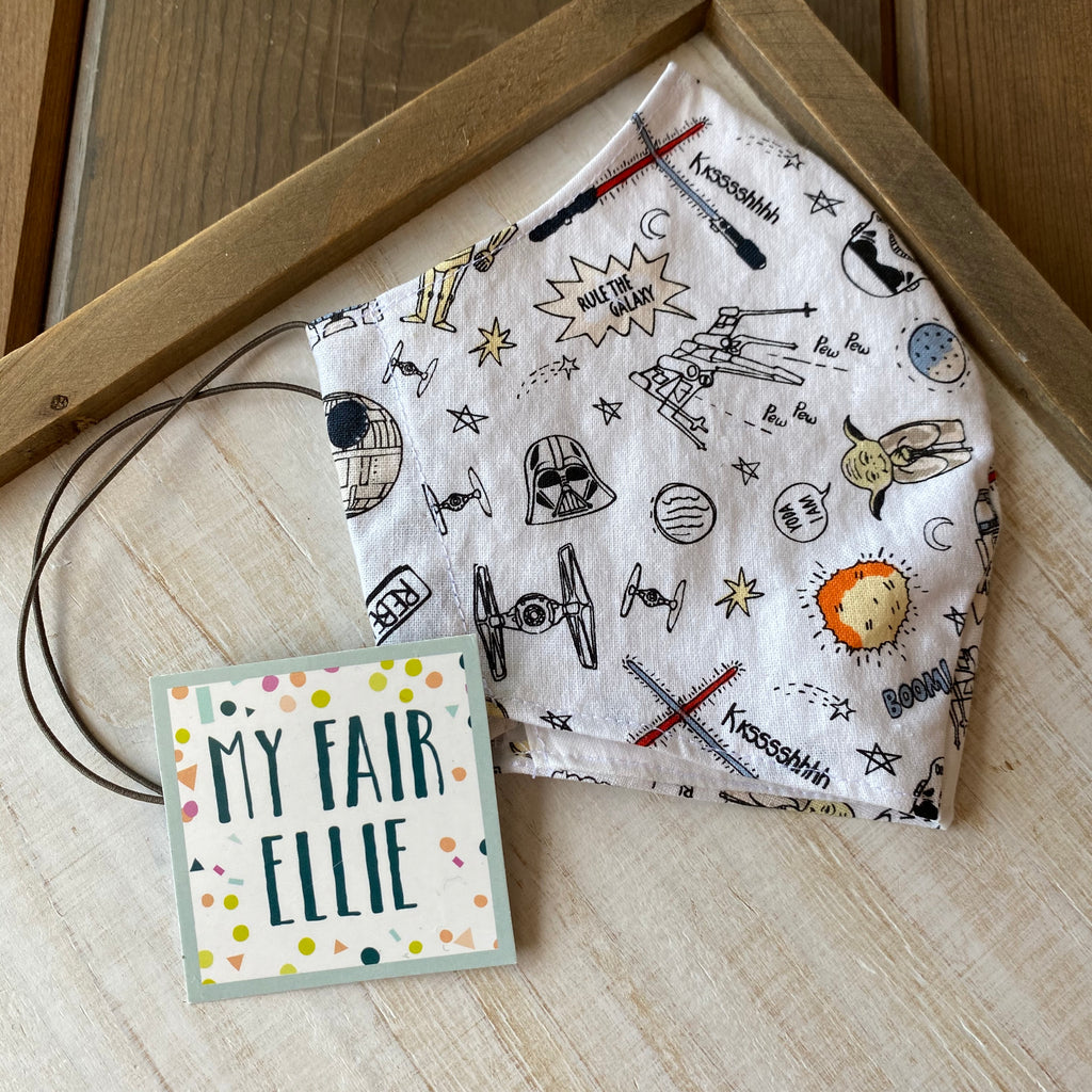 Star Wars Fabric Mask // My Fair Ellie Fabric Mask