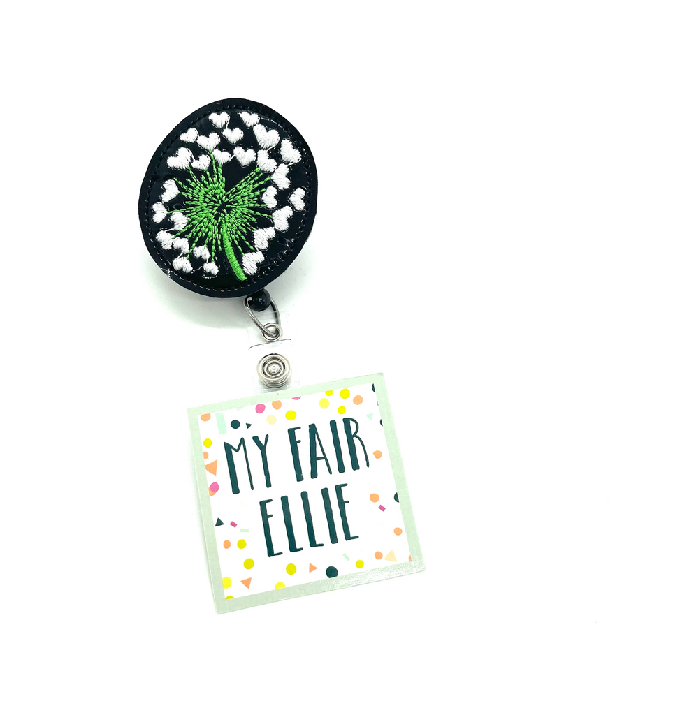 Dandelion // Badge Buddy - TOPPER ONLY!