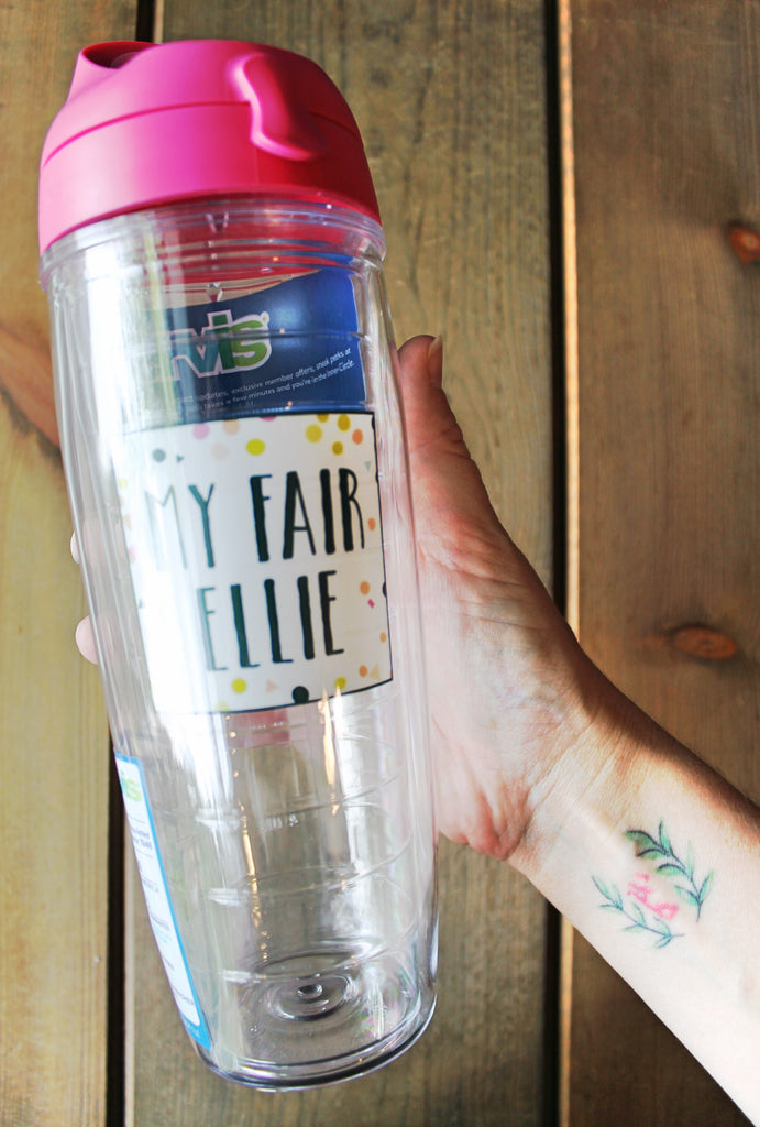PREORDER! Summer + Girl Power // My Fair Ellie Tervis Tumbler