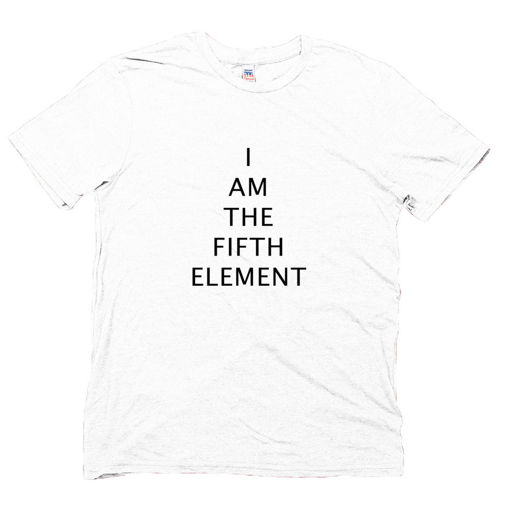 White Men's The Fifth Element T-shirt