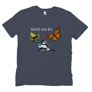 Men's Navy Save the Bs T-shirt