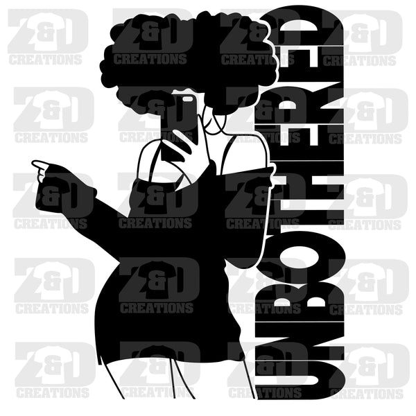 Unbothered Svg Zdcreations