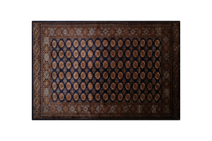 "7'10"" * 5'6"" Pakistan Wool and Silk Handmade Rug, Handmade Rug, Kourosh Rugs"