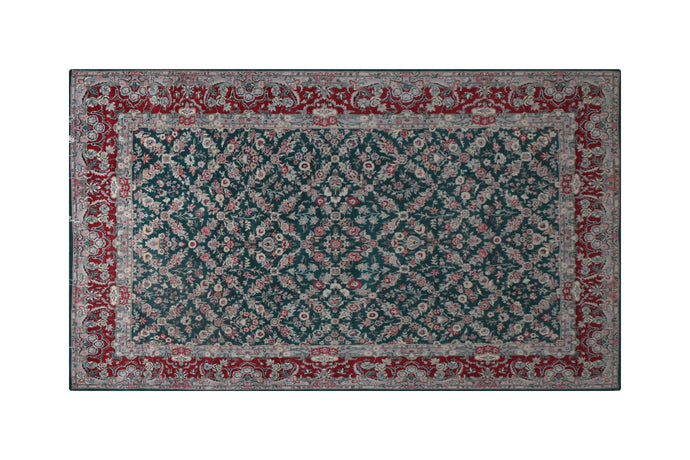 9' * 6' Chinese Wool and Silk Handmade Rug, Handmade Rug, Kourosh Rugs