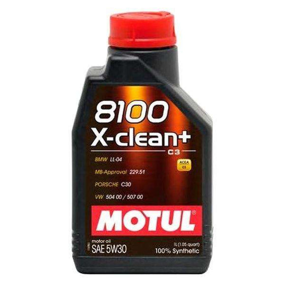 Motul 1L Synthetic Engine Oil 8100 5W30 X-CLEAN