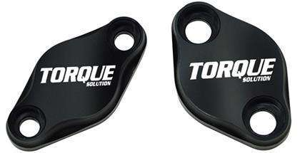 Torque Solution Air Pump Delete Plate Set 2006-14 SUBARU WRX, 07-17 STI, 06-09 LGT