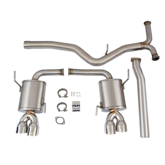 Mishimoto 2015+ Subaru WRX / STI 3in Stainless Steel Cat-Back Exhaust