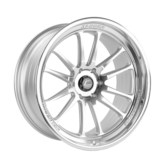 Cosmis Racing XT-206R Silver w/ Machined Face + Lip Wheel 22x10 +0mm 6x139.7