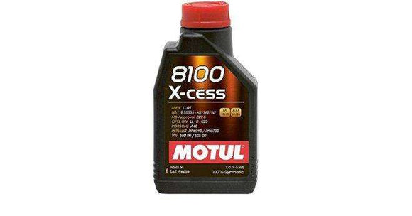 Motul 1L Synthetic Engine Oil 8100 5W40 X-CESS