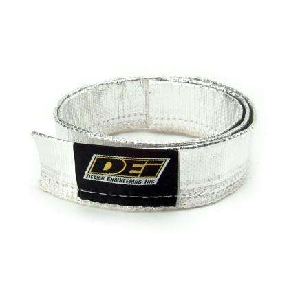 DEI Heat Sheath 3/4in x 3ft - Aluminized Sleeving- Sewn Edge