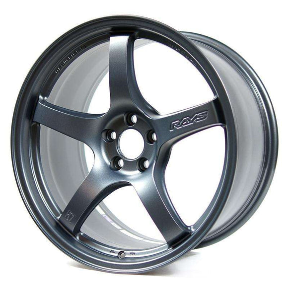 Gram Lights 57CR 18X9.5 +22 5X114.3 Gun Blue 2