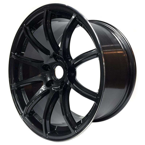 Gram Lights 57TRANSCEND 18X9.5 +39 5-100 SUPER DARK GUNMETAL