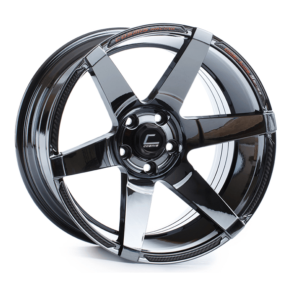 Cosmis Racing S1 Black Chrome Wheel 18x9.5 +15mm 5x114.3