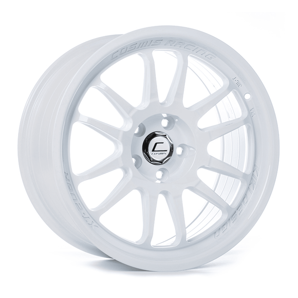 Cosmis Racing XT-206R White Wheel 18x9 +33mm 5x120