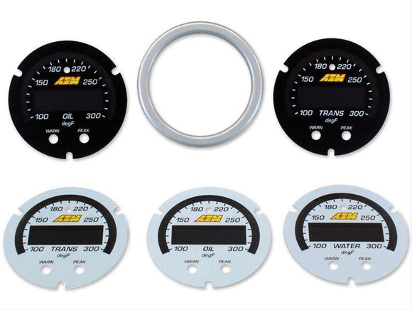 AEM X-Series Temperature Gauge Accessory Kit