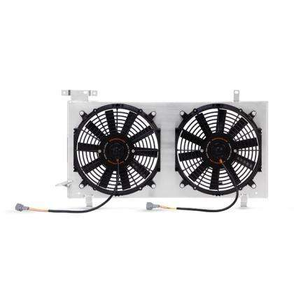 Mishimoto Plug-N-Play Performance Aluminum Fan Shroud Kit - 2008+ WRX/STI
