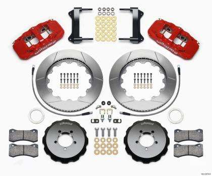 Wilwood AERO6 6 piston Big Brake Front Brake Kit - WRX 2002-2014