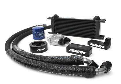 Perrin Subaru 2002-2005 WRX / 2004-2017 STi Oil Cooler Kit