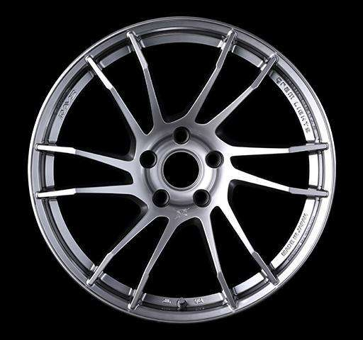 Gram Lights 57XTC 18X9.5 +38 5-114.3 SHINING SILVER