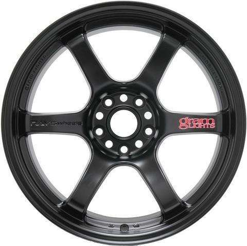 Gram Lights 57DR 18X9.5 +12 5-114.3 SEMI GLOSS BLACK (Evo)
